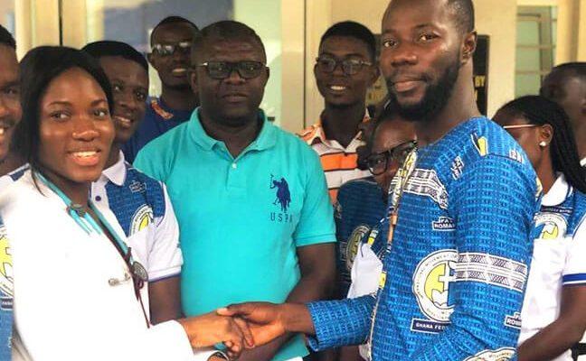 Imcs-Pax-Romana-Ghana-Federation-Donates-To-Kath