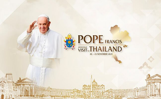 Pope-Francis-visit-Thailand-and-Japan-in-November