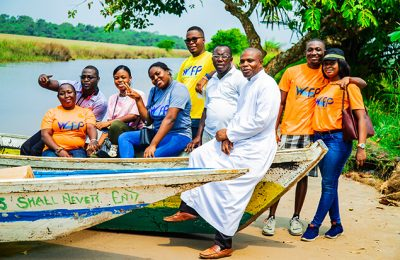 Humanitarian-Mission-to-The-Western-Region,Nzulezo-with-the-youth-of-Our-Lady-Star-of-The-Sea