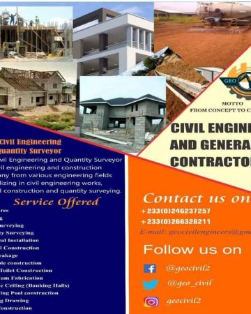 Civil engineers and general Contractors