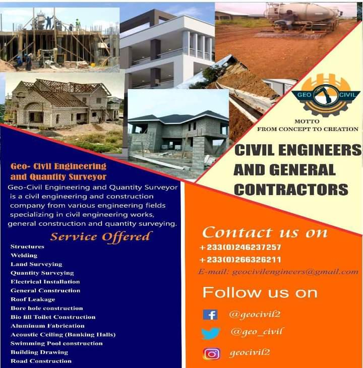 Civil engineers and general Contractors